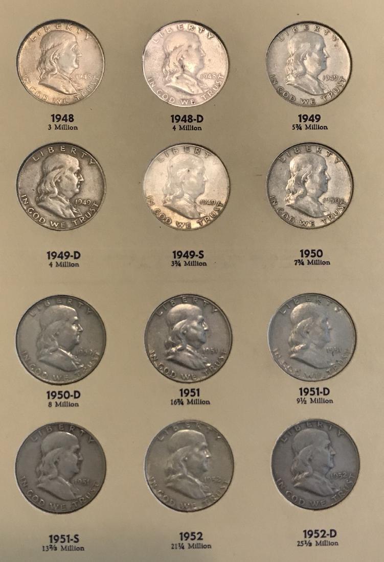 Benjamin Franklin Half Dollar Complete Collection - 3