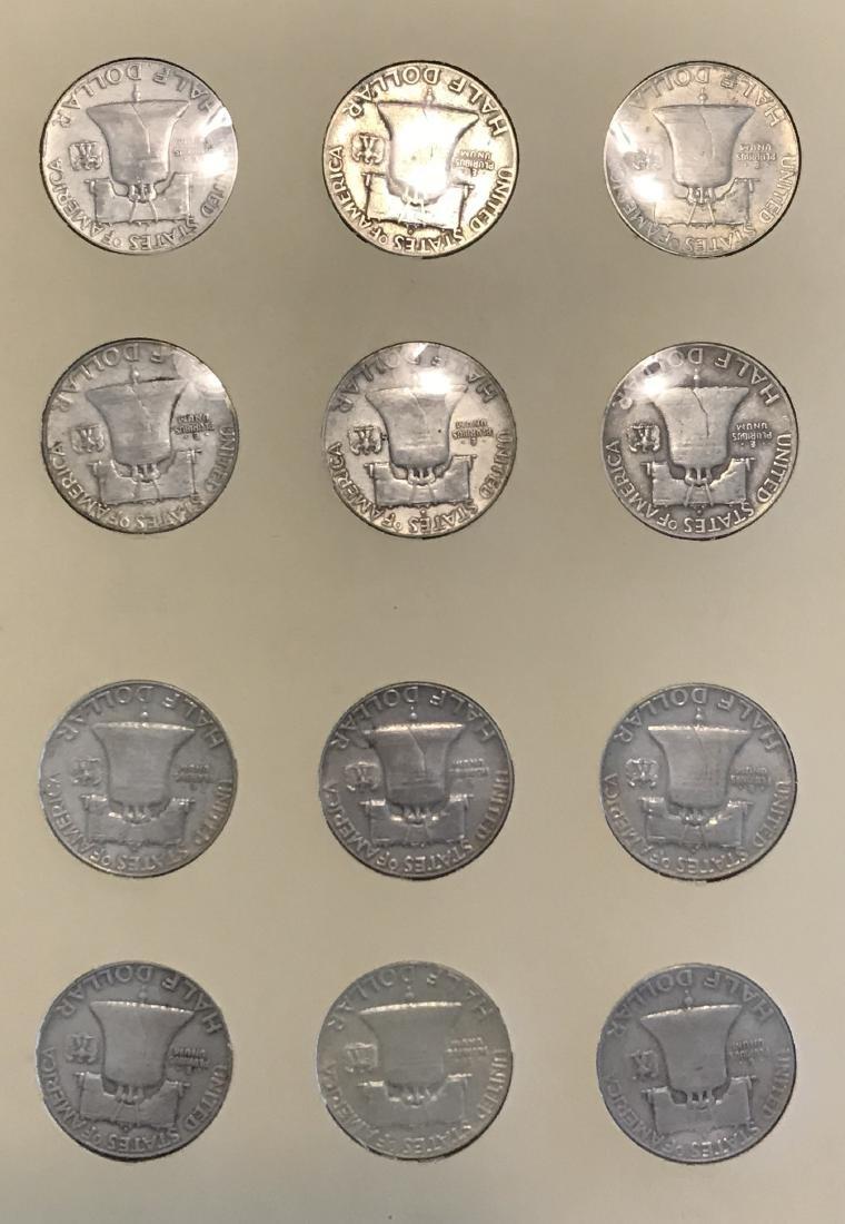 Benjamin Franklin Half Dollar Complete Collection - 4