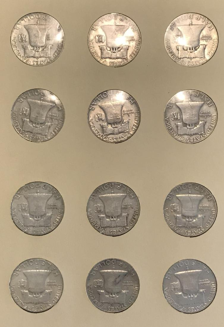 Benjamin Franklin Half Dollar Complete Collection - 6