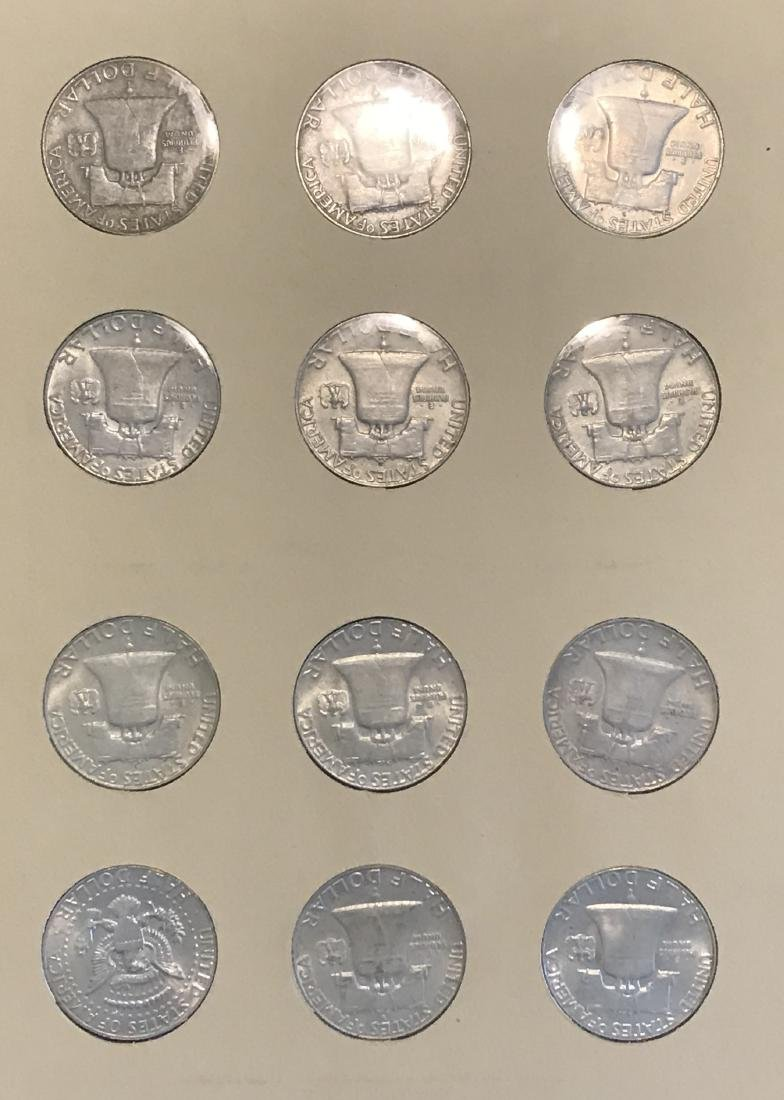 Benjamin Franklin Half Dollar Complete Collection - 8