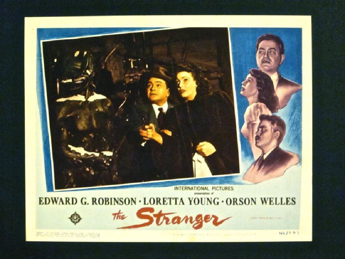 STRANGER '46 LC LORETTA YOUNG & E G ROBINSON SEE WELLES
