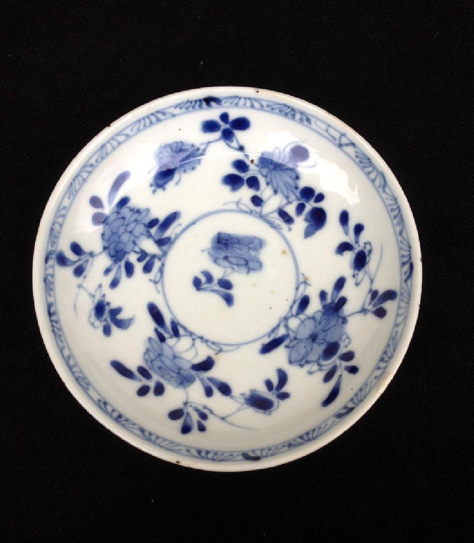 Kangxi blue and white saucer bowl, c 1700