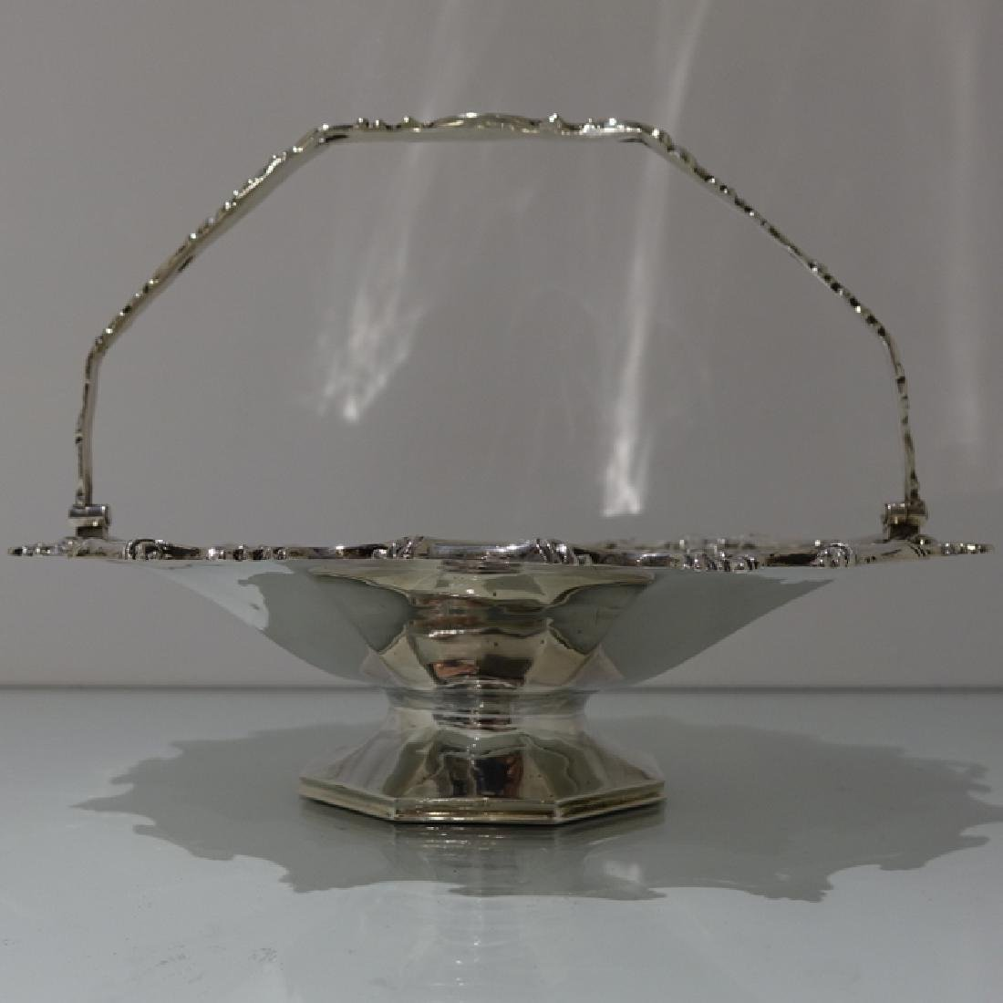 19th Century Sterling Silver Antique Victorian Cake - 2