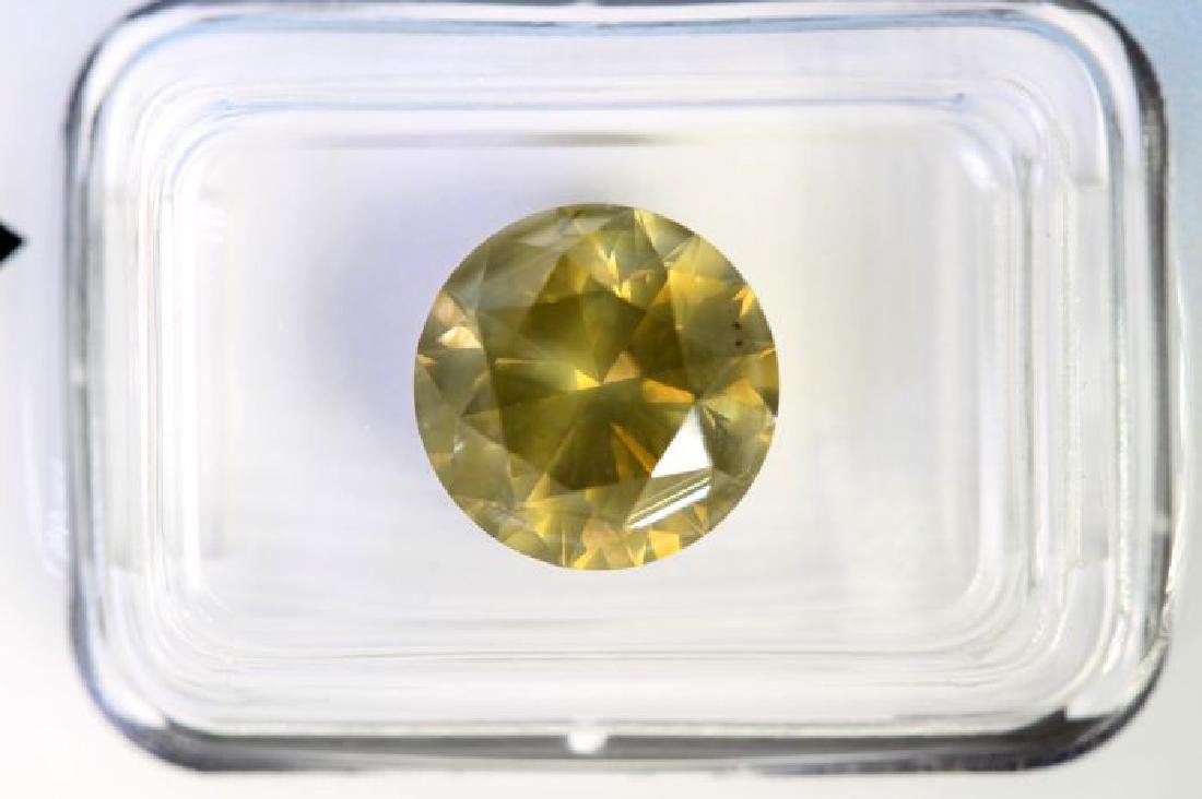 IGI Antwerp Sealed Diamond - 4.02 ct - Fancy Deep