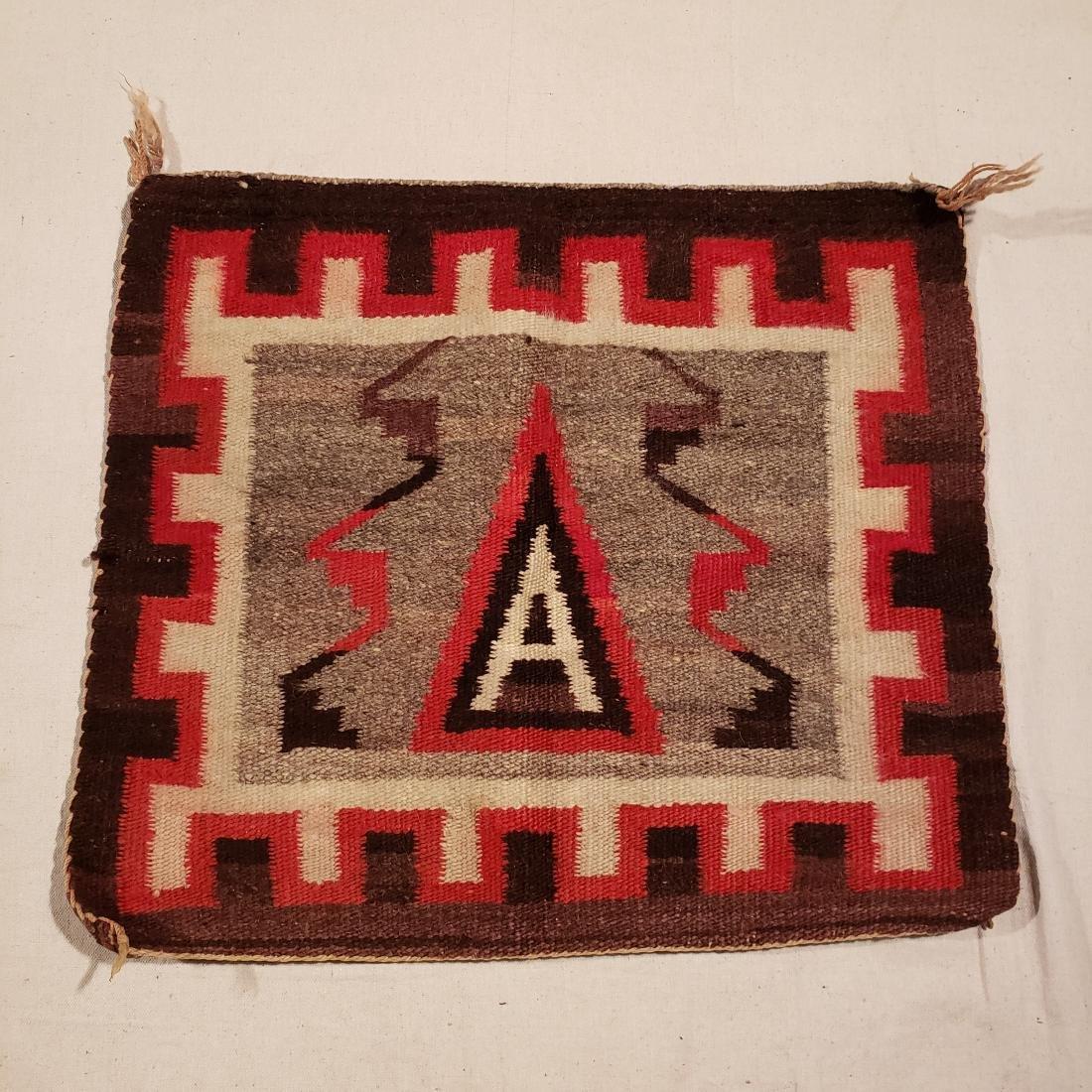 Navajo Small Pictorial Rug Ca 1920's