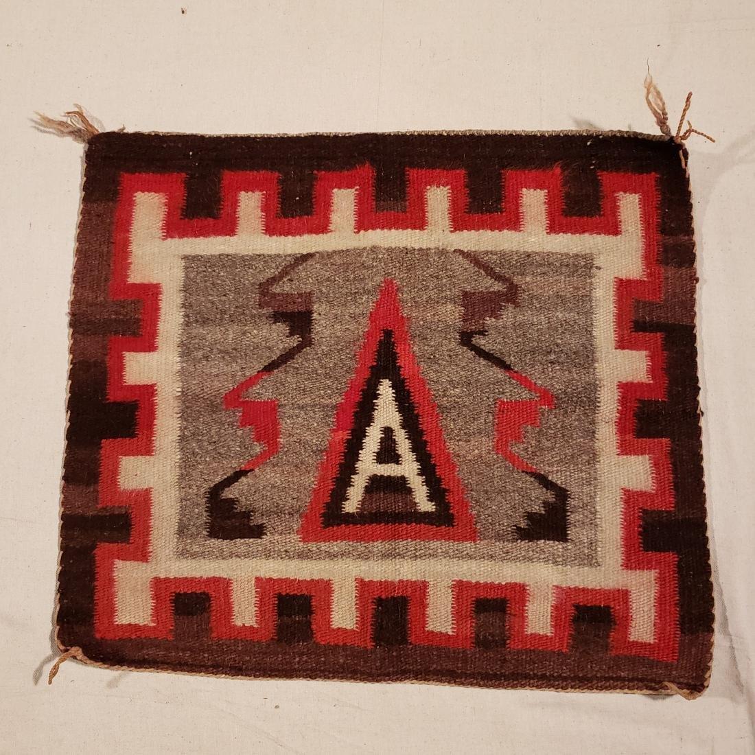 Navajo Small Pictorial Rug Ca 1920's - 3
