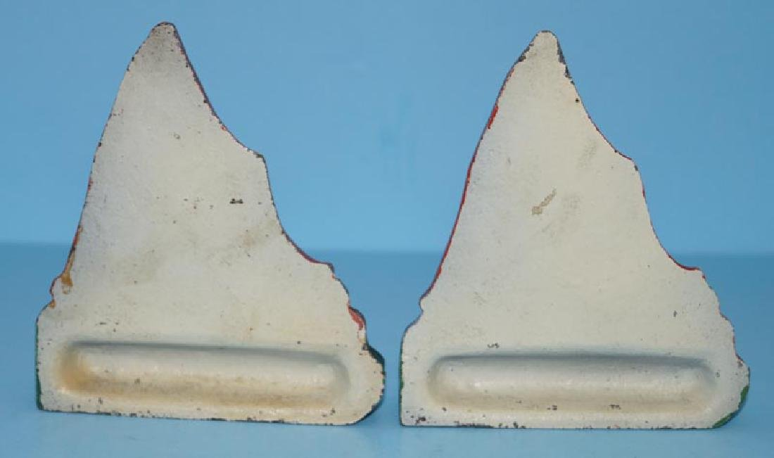 Cottage Cast Iron Bookends - 5