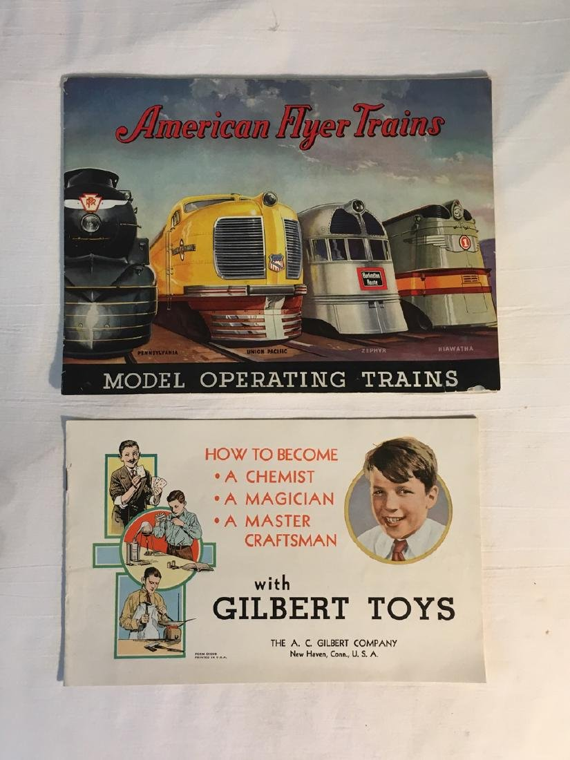 American Flyer Trains, Illustrated Gilbert Toy Catalogs