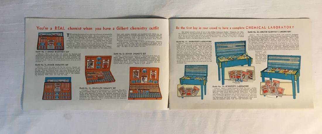 American Flyer Trains, Illustrated Gilbert Toy Catalogs - 6