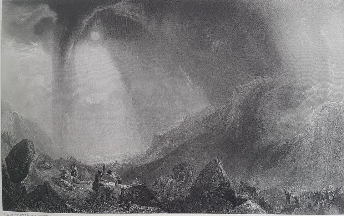 J. Cousen E. Brandard Steel Engravings 2x Hannibal
