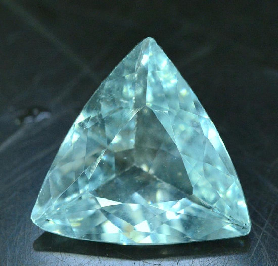 4.65 cts Untreated Aquamarine Gemstone from Pakistan -