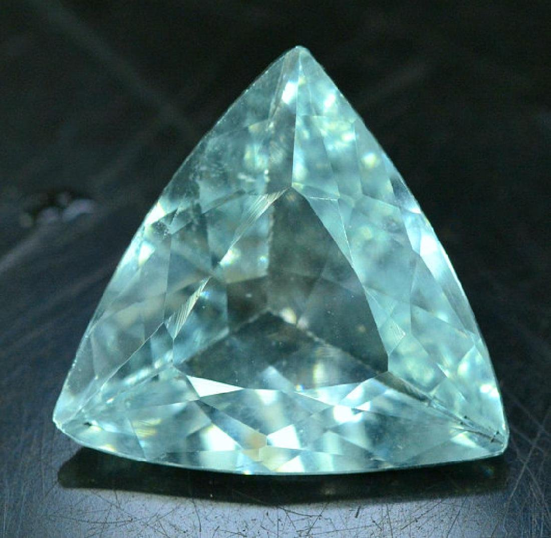 4.65 cts Untreated Aquamarine Gemstone from Pakistan - - 3
