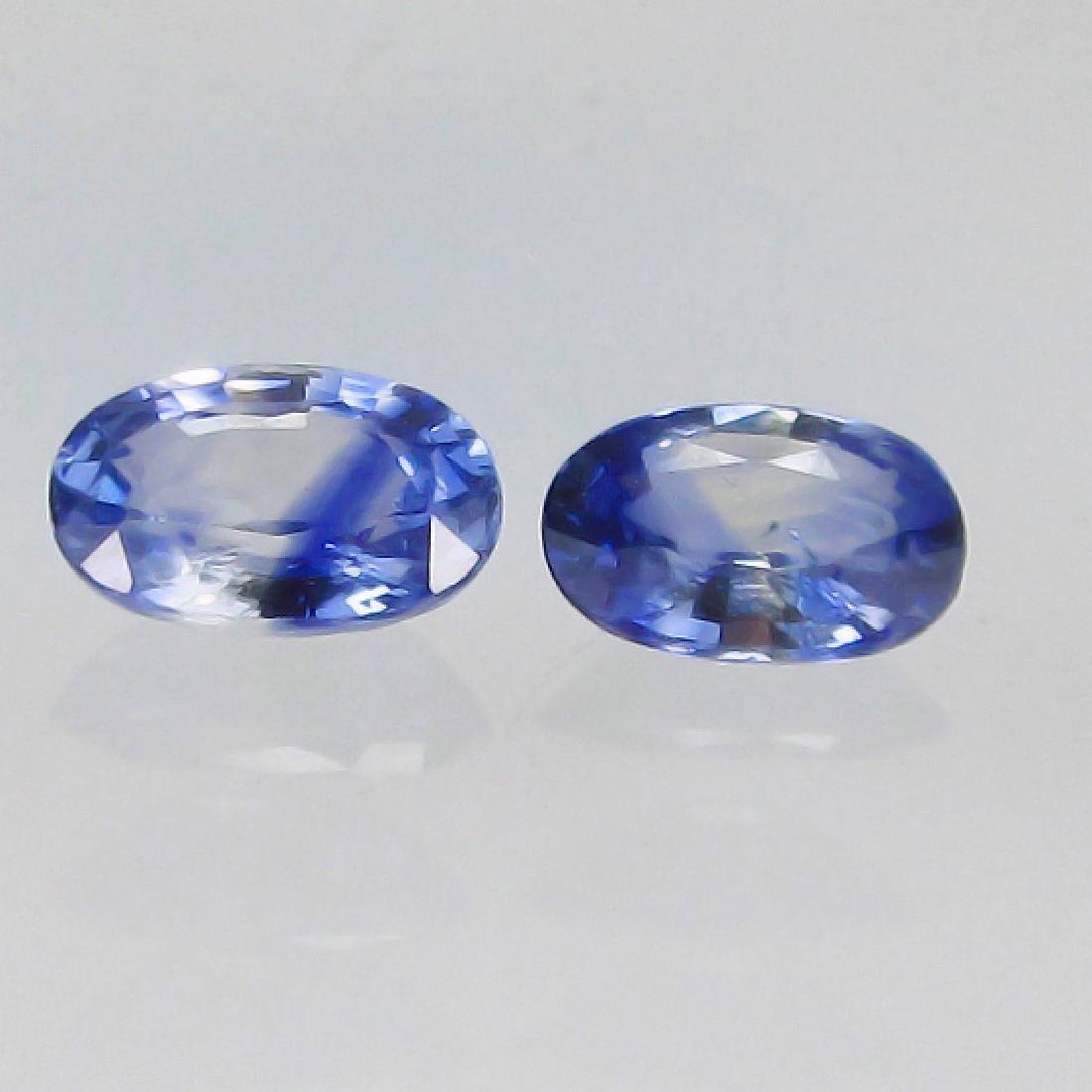 1.12 Ct Genuine Ceylon Blue Sapphire Oval cut Stones