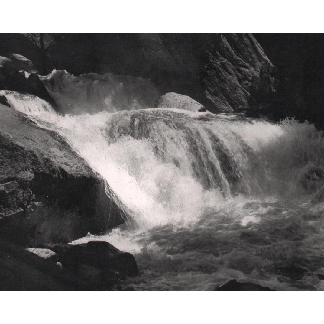 ANSEL ADAMS - Cascade, 1920
