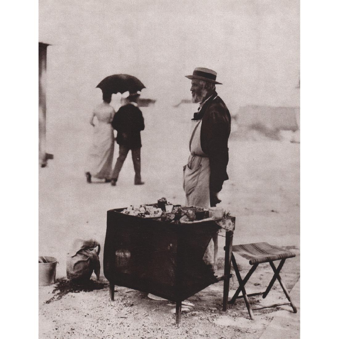 EUGENE ATGET - Marchand de nougats, 1898