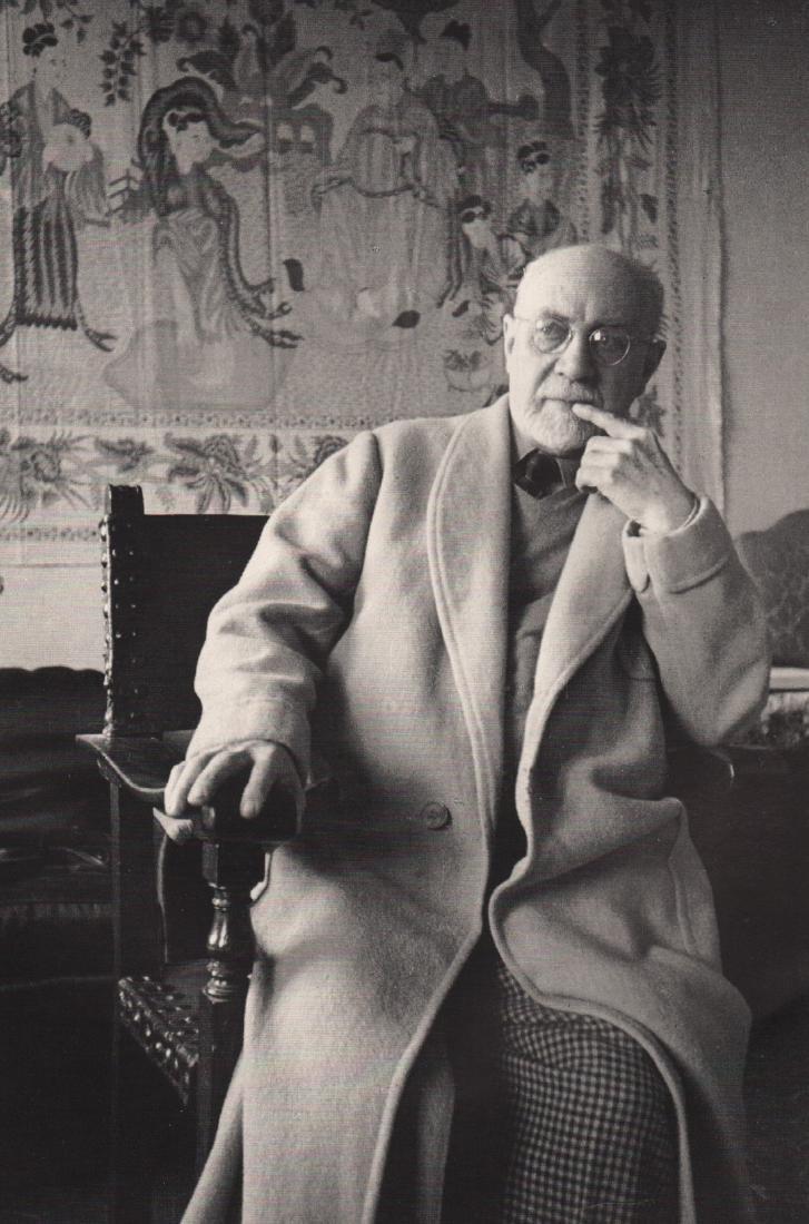 HENRI CARTIER-BRESSON - Henri Matisse, 1944