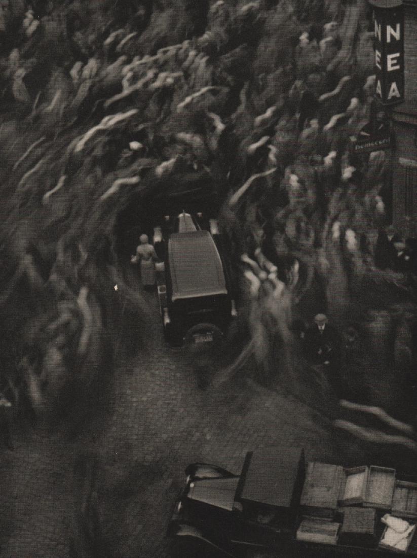 HEINRICH IFFLAND - Flutende Menschenmasse