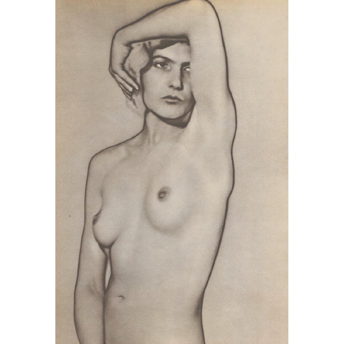 MAN RAY -  Nude (solarized)