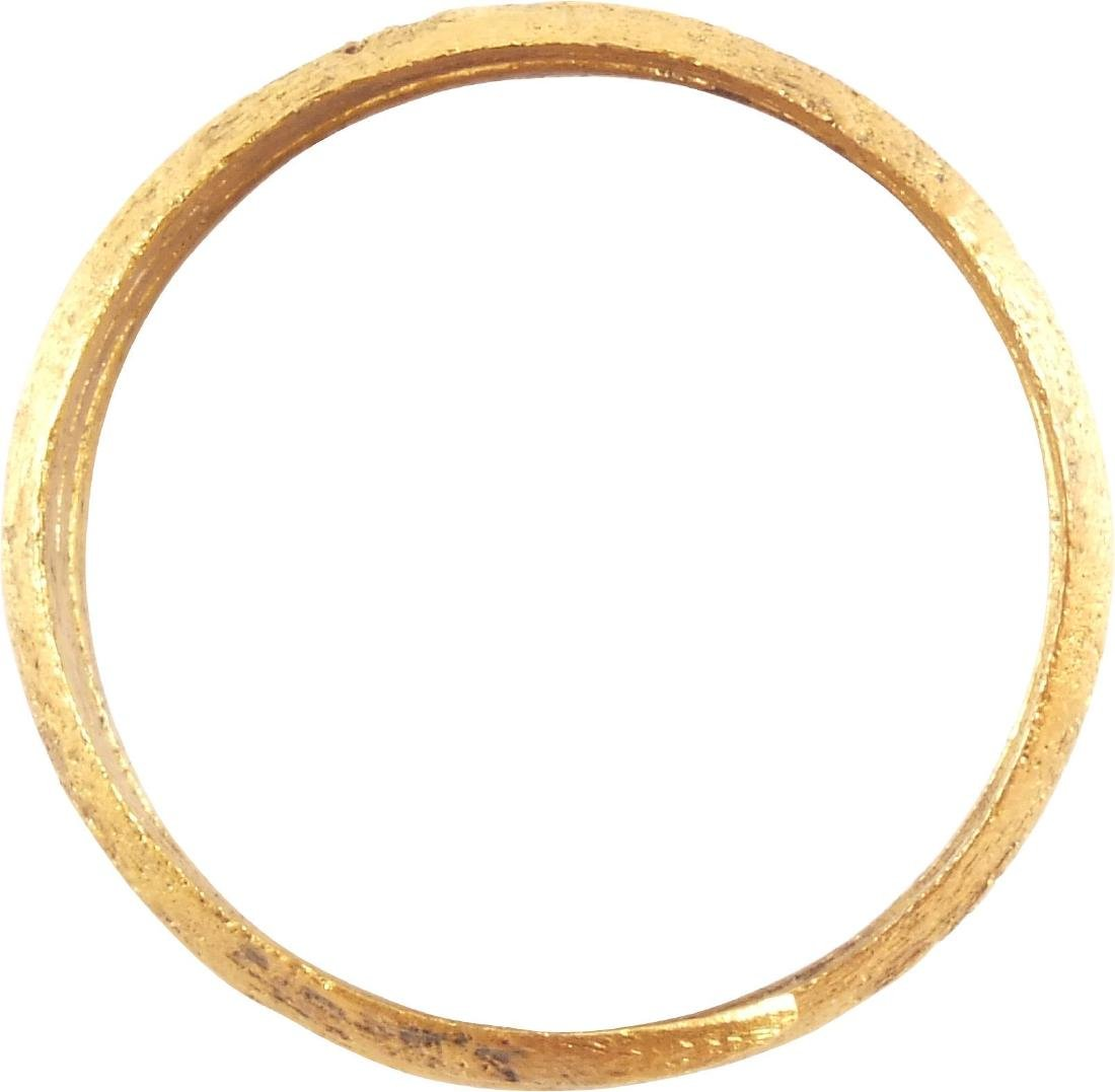 ANCIENT VIKING COIL RING 850-1050 AD - 2