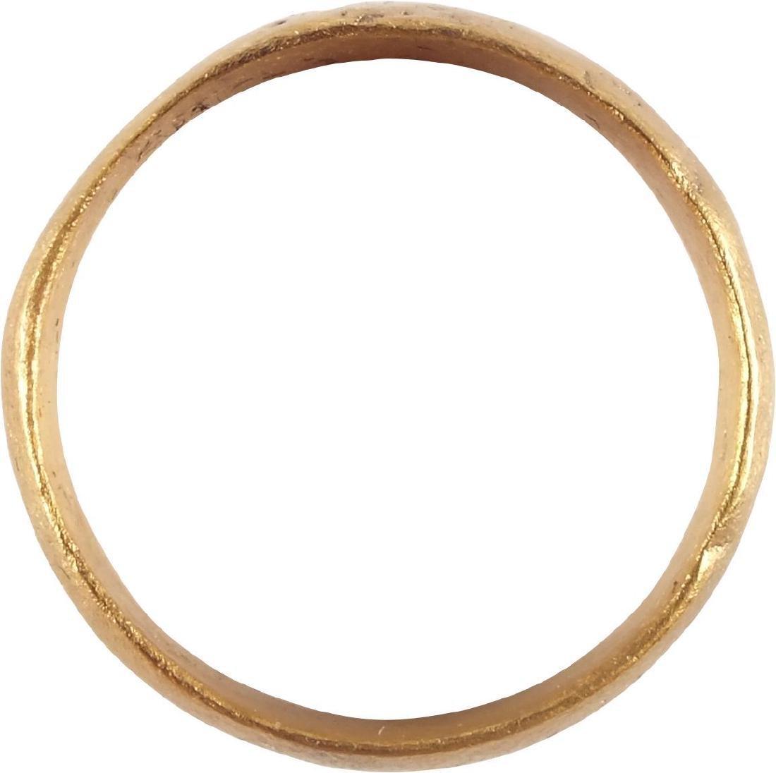 ANCIENT VIKING MAN'S WEDDING RING C.850-1050 AD - 2