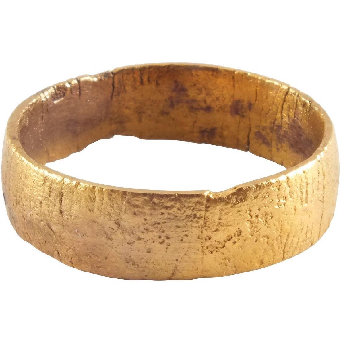 ANCIENT VIKING PINKY RING C.900 AD