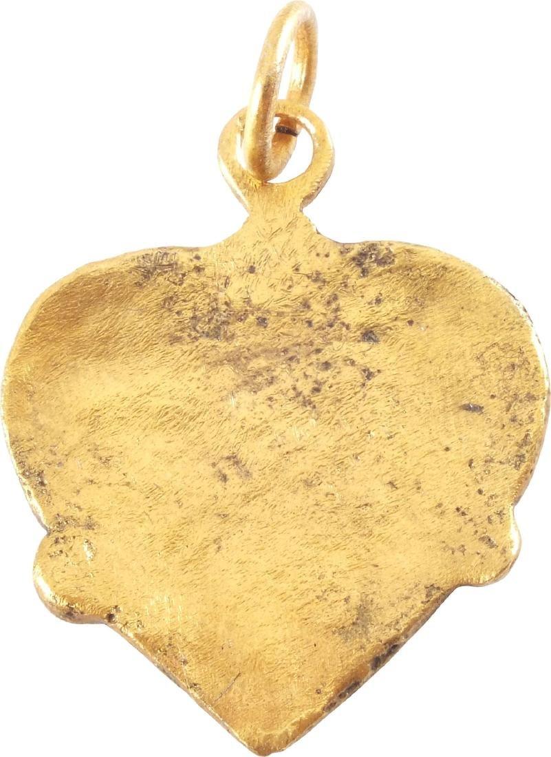 VIKING HEART PENDANT C.850-1050 AD - 2