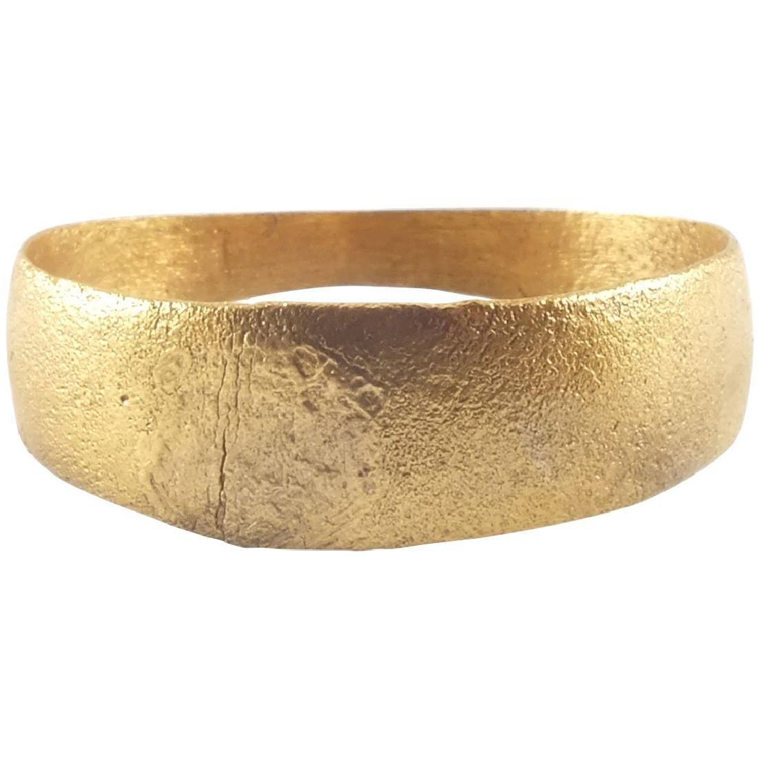 ANCIENT VIKING MAN'S WEDDING RING C.850-1050 AD