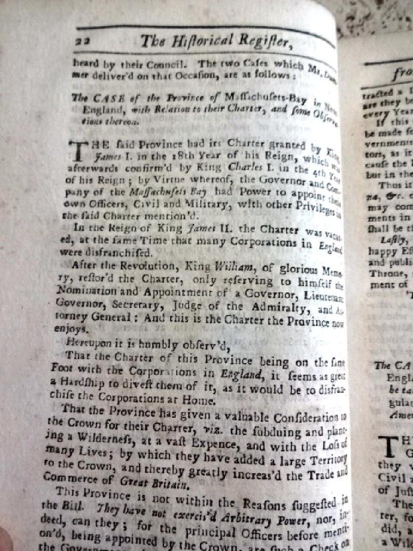 1724 Historical Register Colonial New Lord Baltimore - 3
