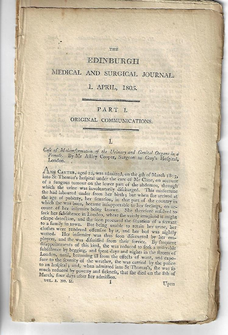1805 Medical Treatises on Bladder - 2