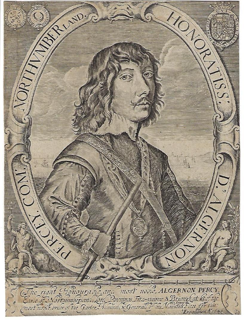 1640 Engraving of Algernon Percy