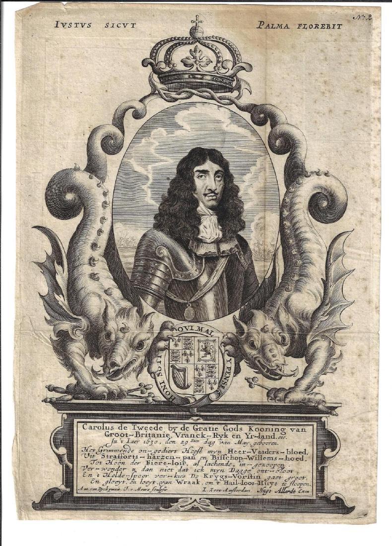 1680 Engraving Carolus de Tweede
