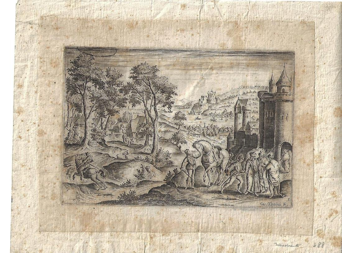 17th C Engraving Giovanni Temini