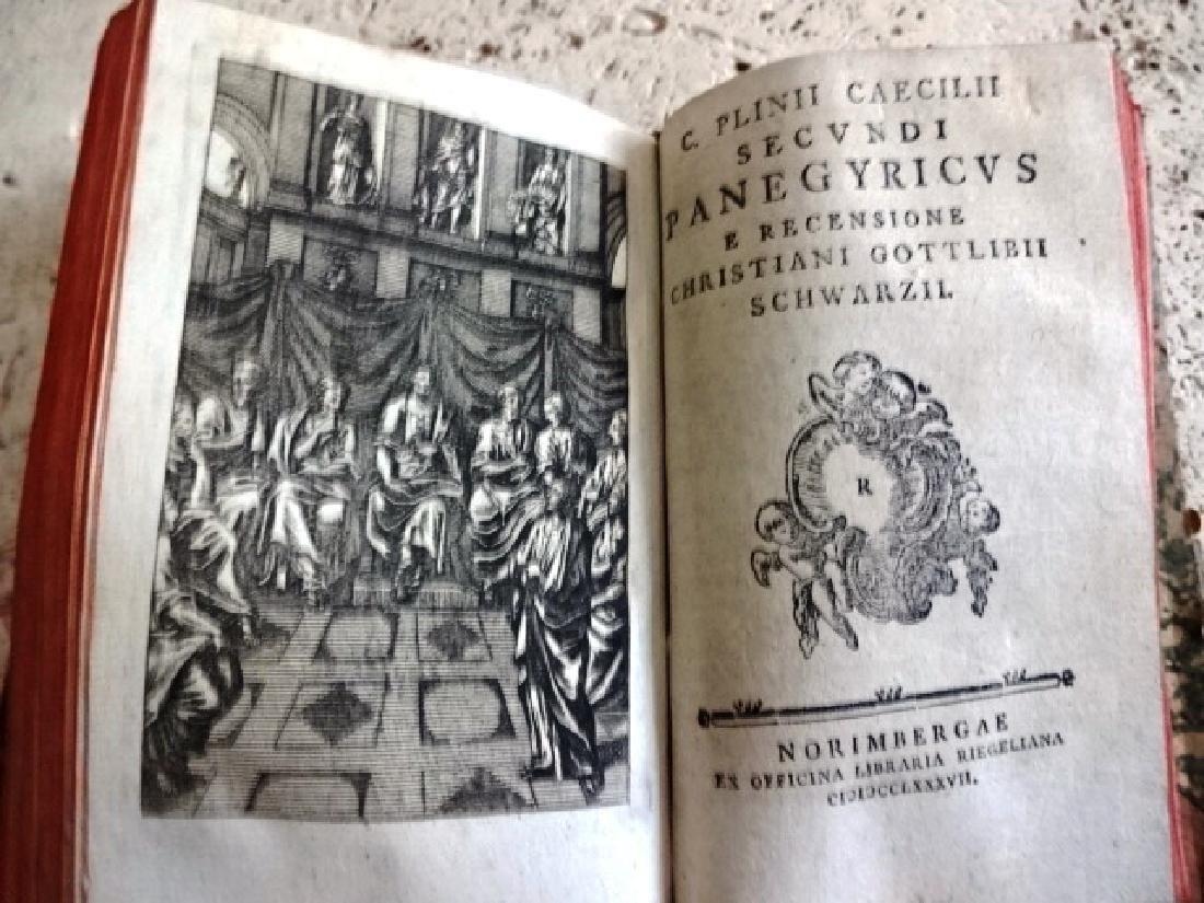 1688 C. Plinii Caecilii Secundi Epistolae Ex Recensione - 2