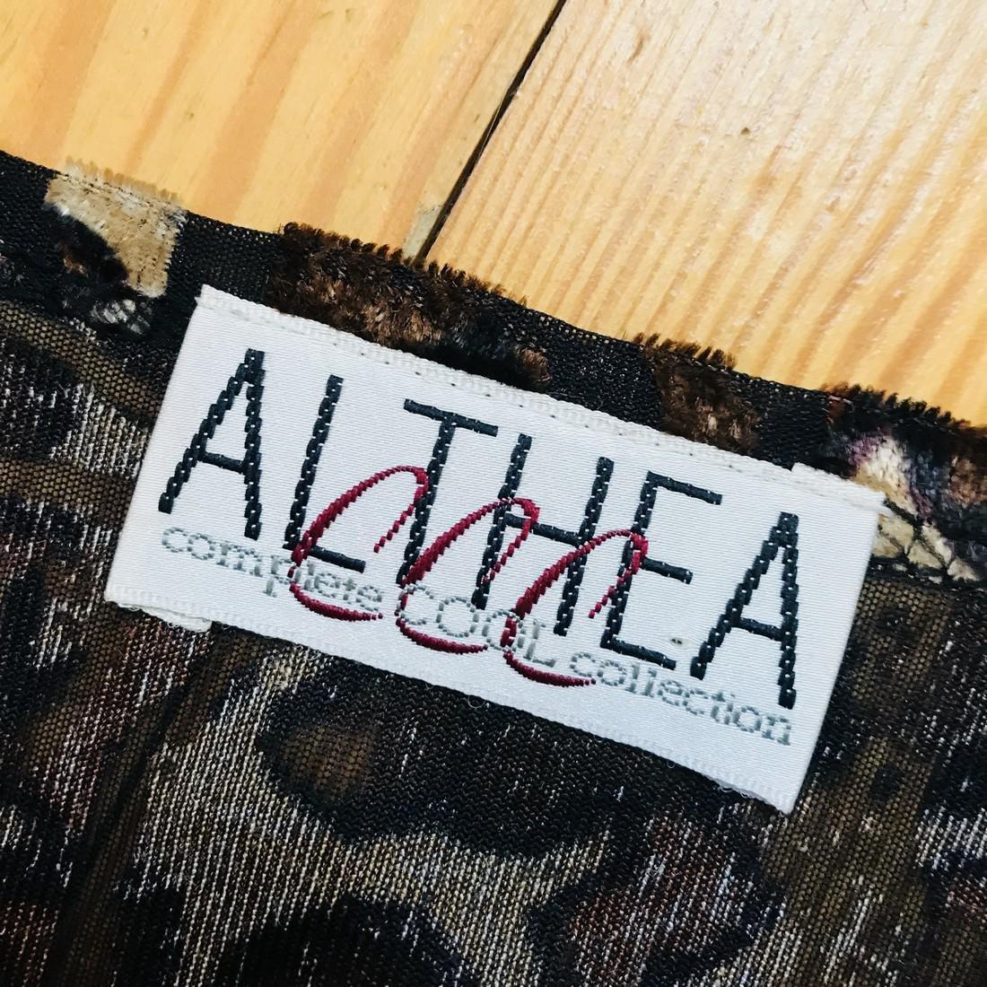 Vintage Women's Althea Designer Dress Size EUR 40 US 10 - 5