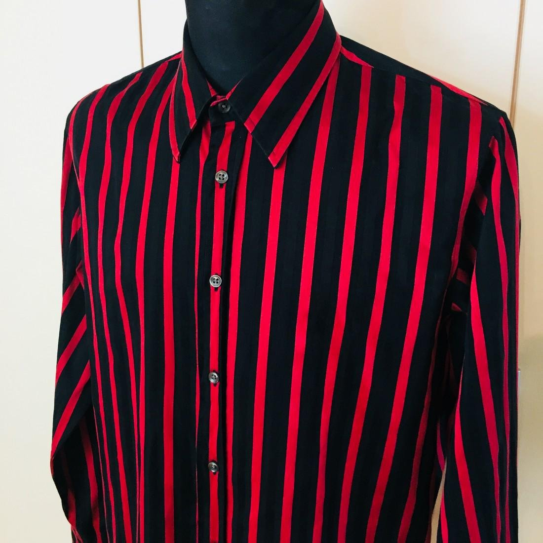 Men's HUGO BOSS Slim Fit Striped Shirt Size XL - 2