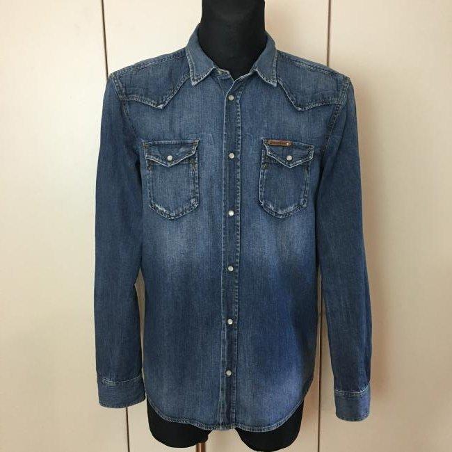 Men's Diesel Slim Fit Denim Shirt Size XL