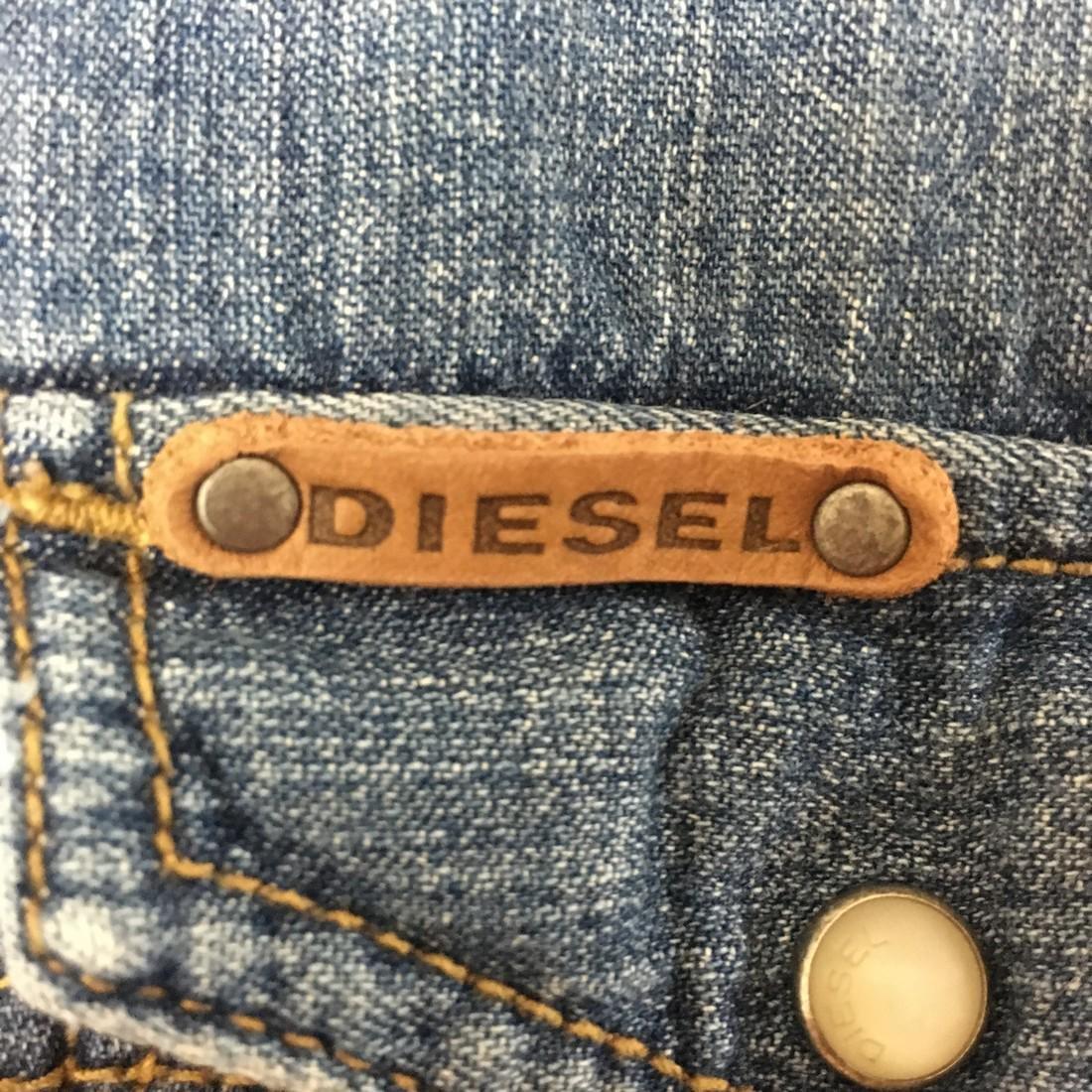 Men's Diesel Slim Fit Denim Shirt Size XL - 3