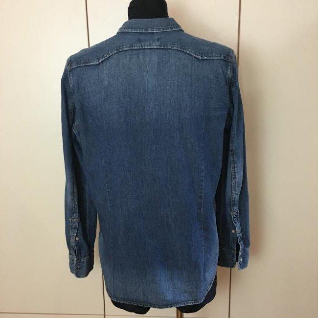 Men's Diesel Slim Fit Denim Shirt Size XL - 4