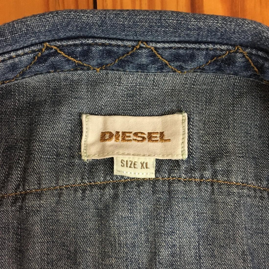 Men's Diesel Slim Fit Denim Shirt Size XL - 5