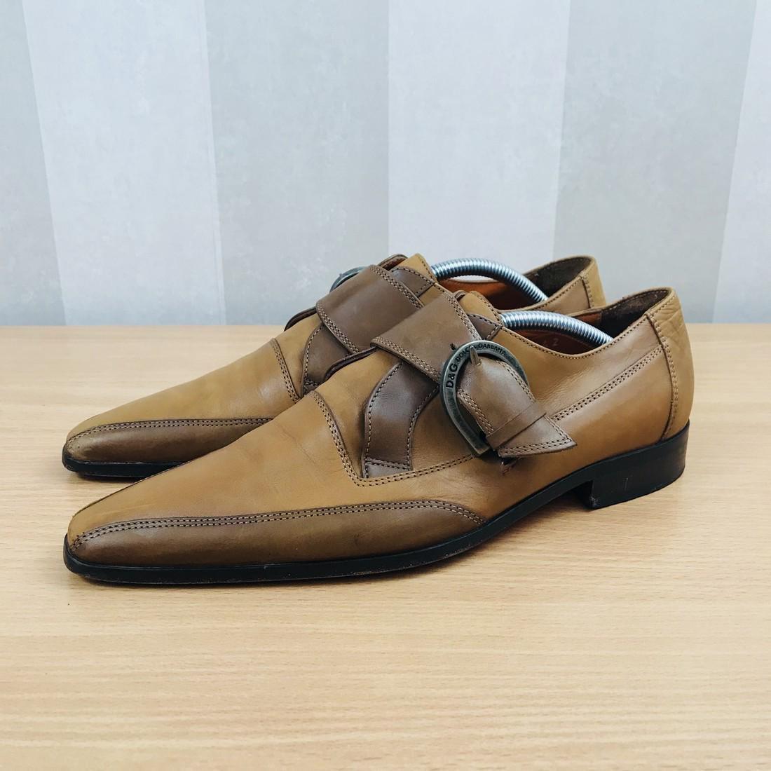 Dolce & Gabbana – Leather Shoes Size EUR 42 UK 8.5 US 9