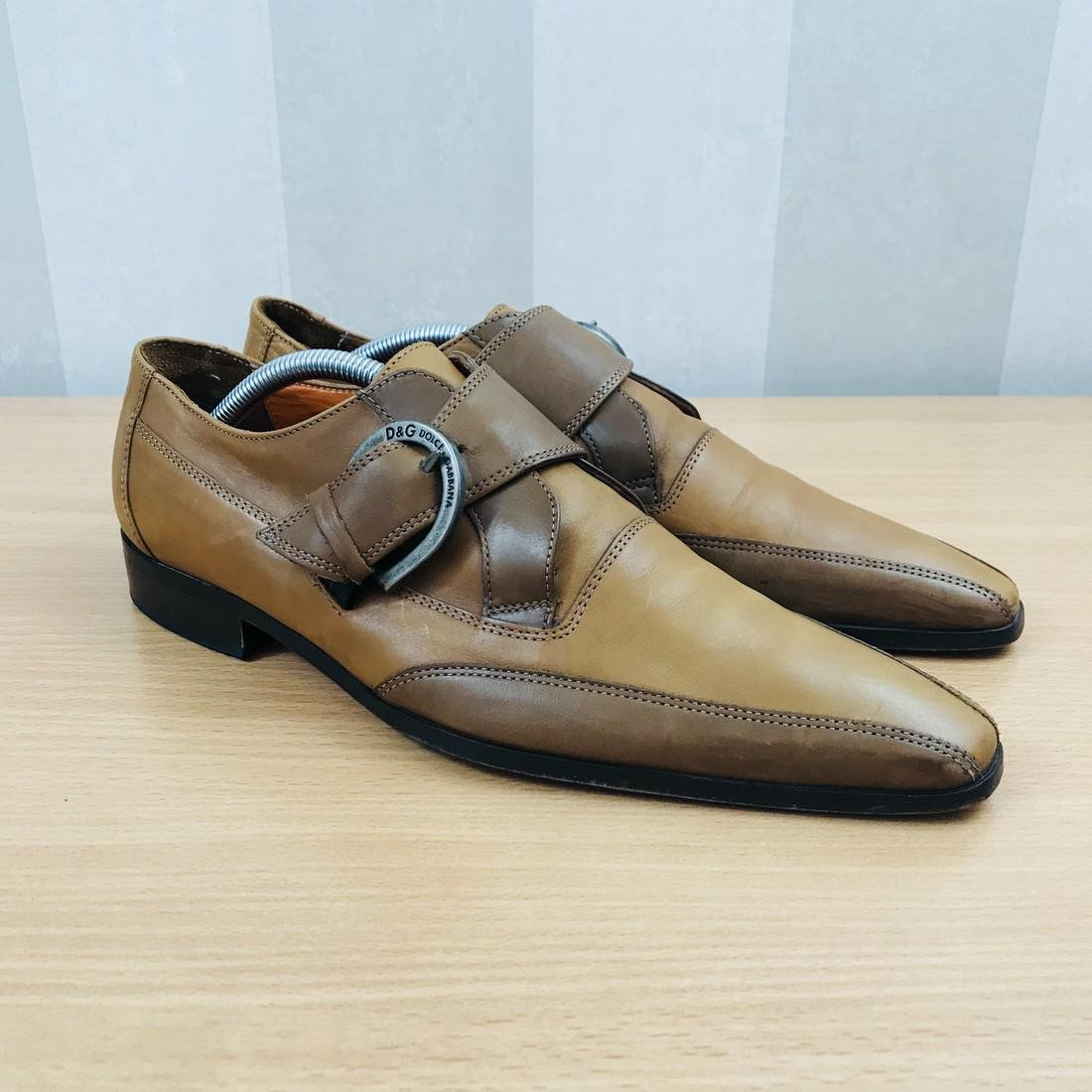 Dolce & Gabbana – Leather Shoes Size EUR 42 UK 8.5 US 9 - 2