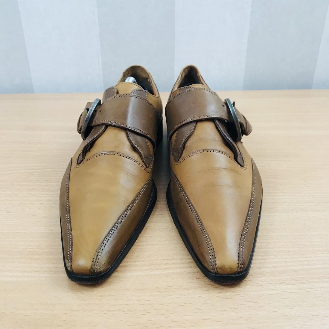 Dolce & Gabbana – Leather Shoes Size EUR 42 UK 8.5 US 9 - 3