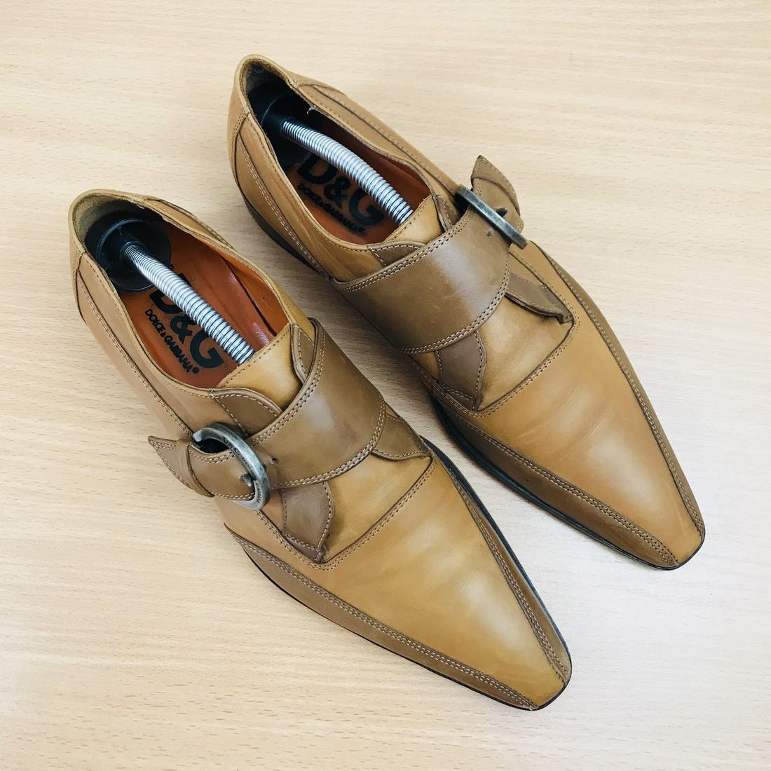 Dolce & Gabbana – Leather Shoes Size EUR 42 UK 8.5 US 9 - 4