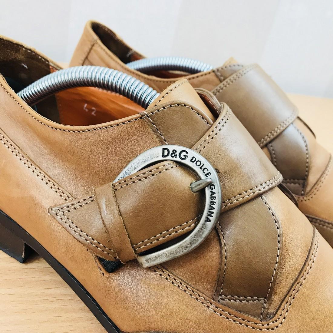 Dolce & Gabbana – Leather Shoes Size EUR 42 UK 8.5 US 9 - 5