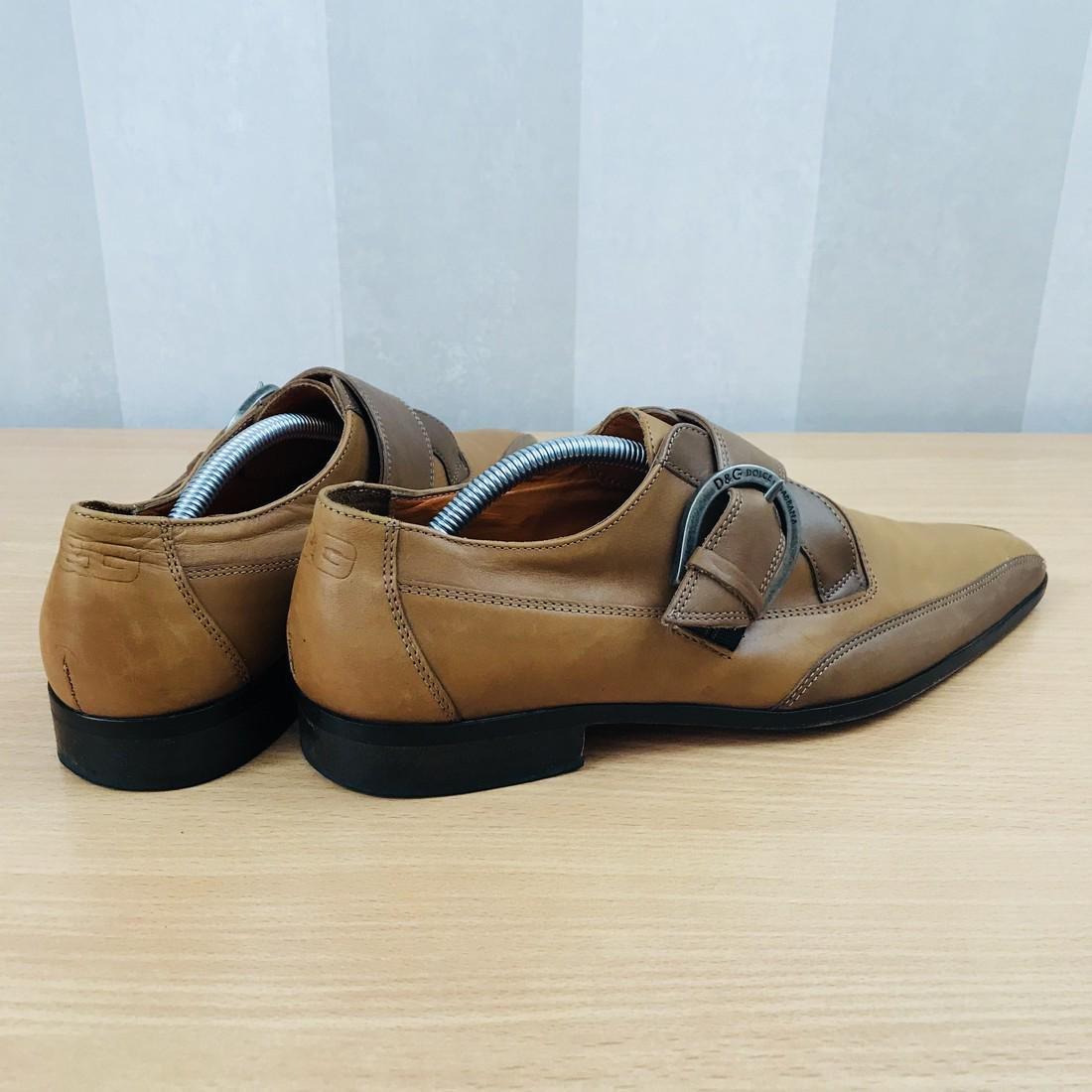 Dolce & Gabbana – Leather Shoes Size EUR 42 UK 8.5 US 9 - 6