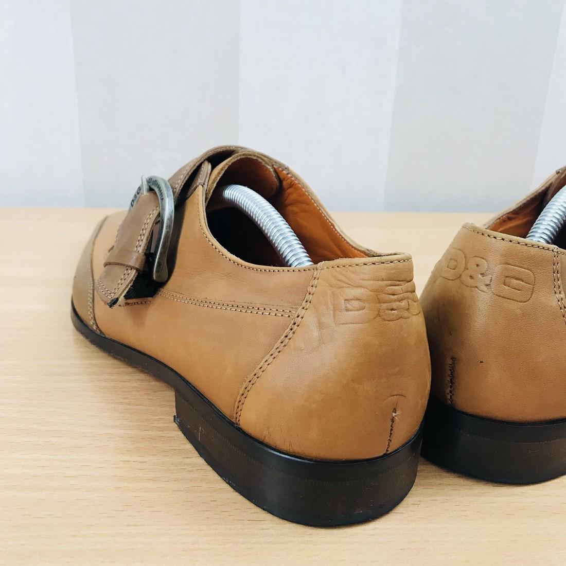 Dolce & Gabbana – Leather Shoes Size EUR 42 UK 8.5 US 9 - 7