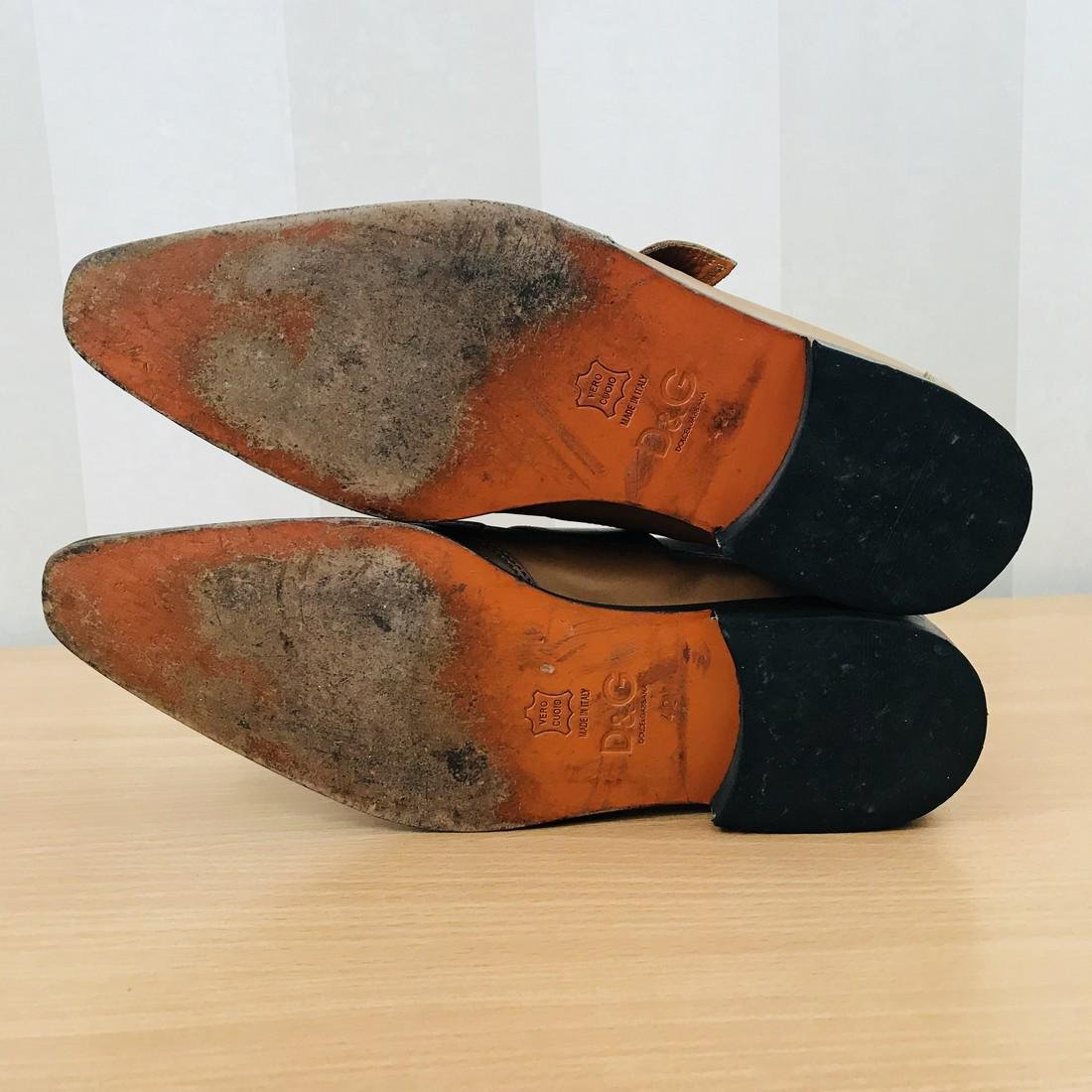 Dolce & Gabbana – Leather Shoes Size EUR 42 UK 8.5 US 9 - 8