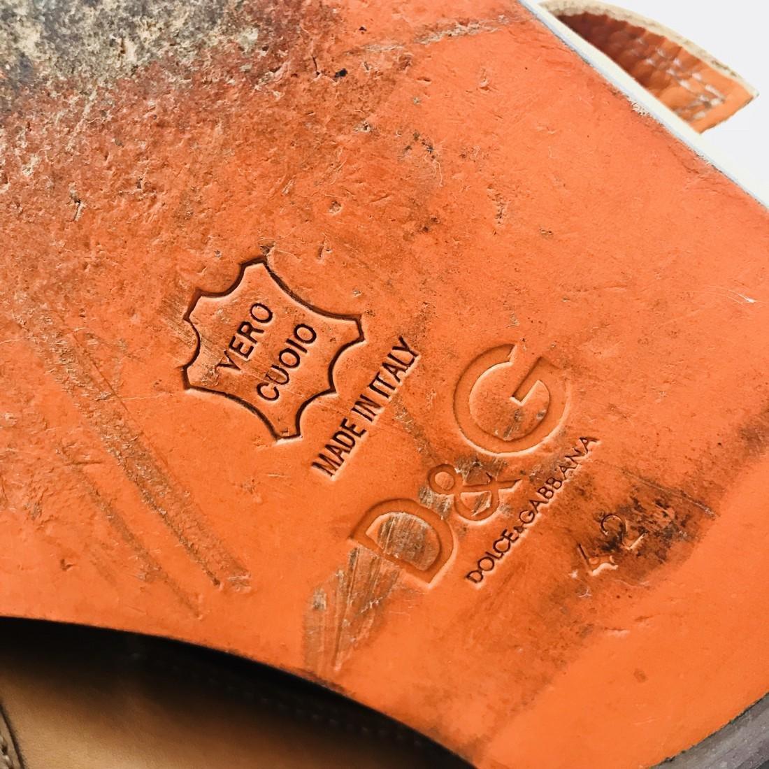 Dolce & Gabbana – Leather Shoes Size EUR 42 UK 8.5 US 9 - 9