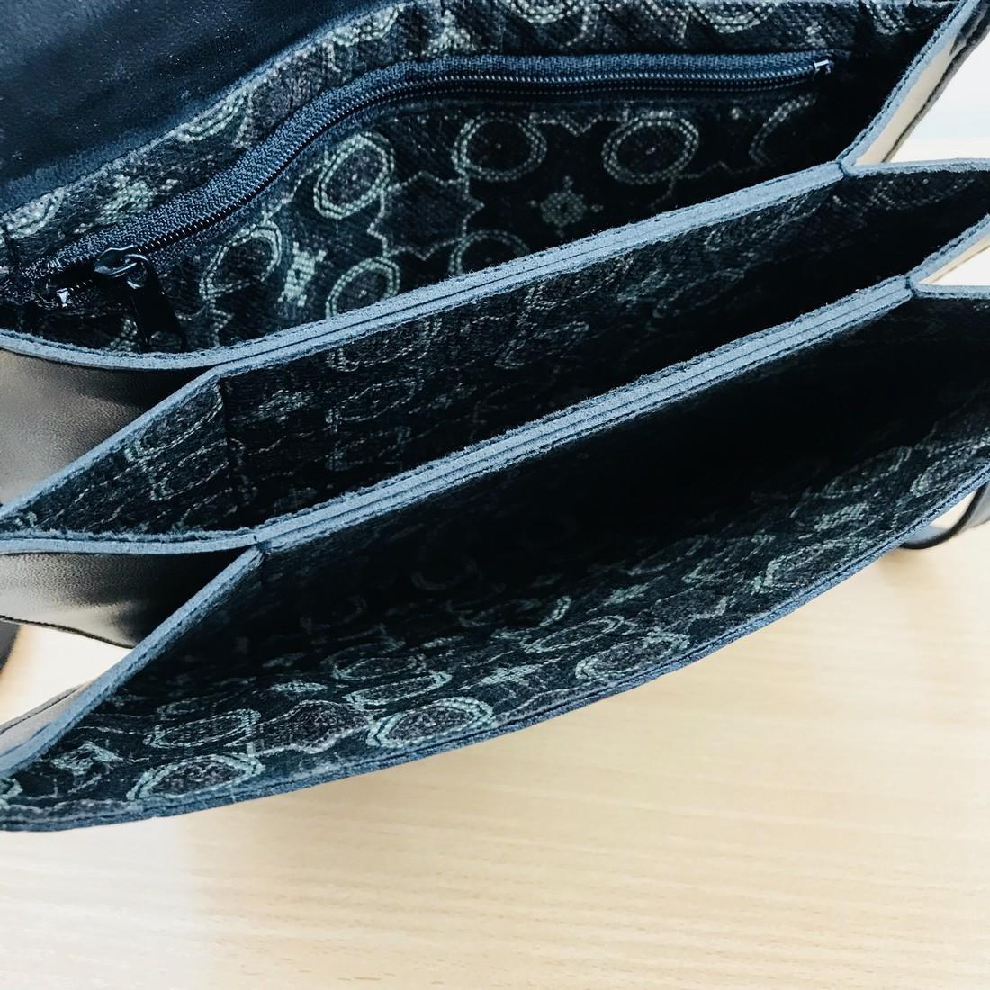 Vintage Handmade Alligator Leather Immitation Small - 6