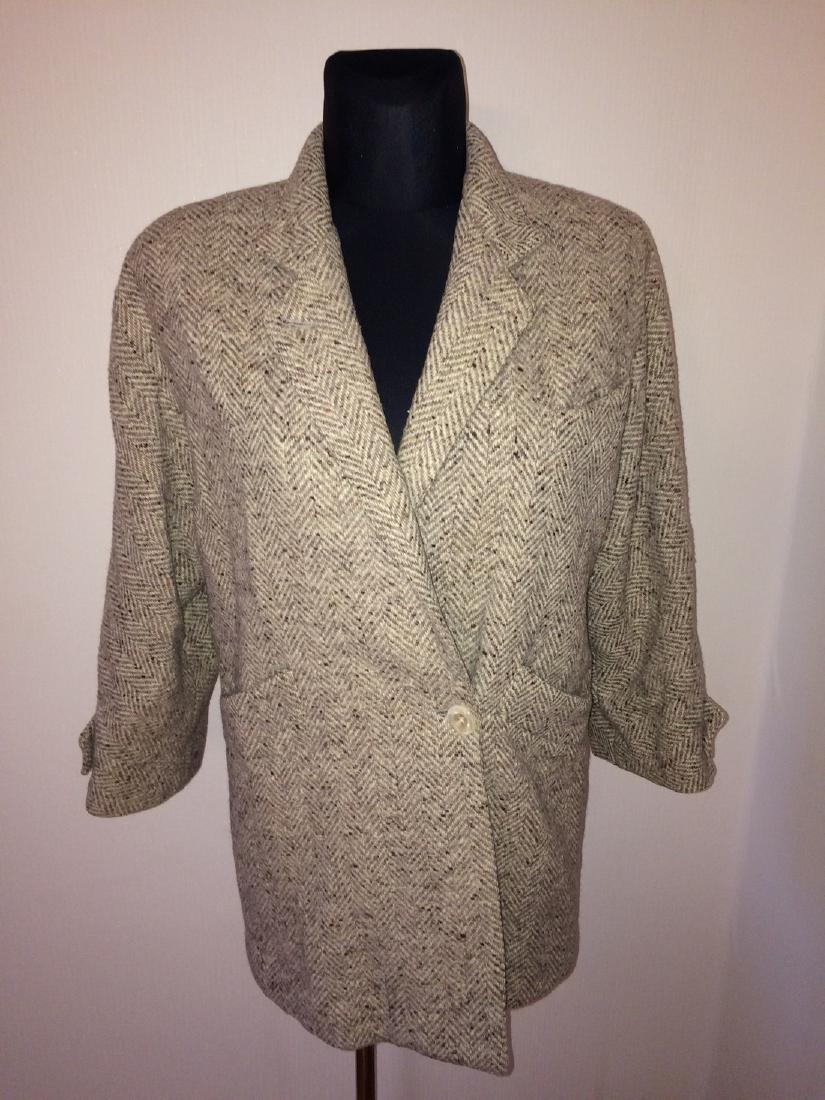 Women's Salco Pure New Wool Jacket Coat Size XL